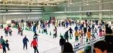 区PTAが親子スケート教室