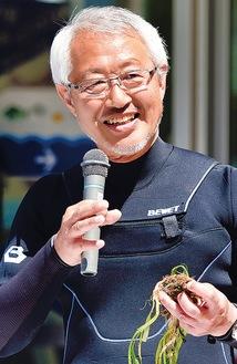 NPO法人海辺つくり研究会 理事・事務局長海洋環境専門家 木村尚さん
