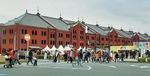 セレブレーションを開催する赤レンガ倉庫