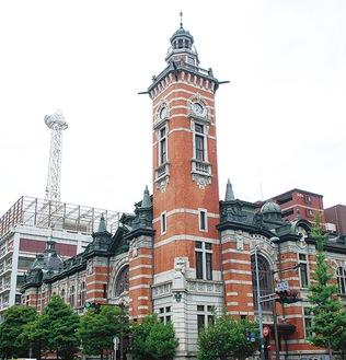 会場となる開港記念会館