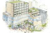 市住宅供給公社が複合施設