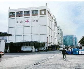 横浜冷凍の倉庫