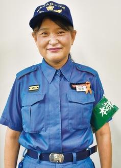 神奈川消防団の本部部長を務める鈴木さん
