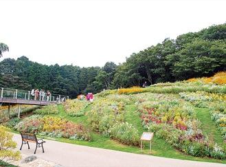 過去に公開された秋の里山ガーデン