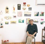 87歳 空き箱でアート
