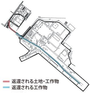 返還される土地など(防衛省資料)