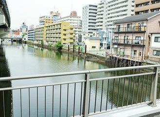 水位計が設置される河川