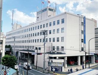 築58年が経過した神奈川区総合庁舎