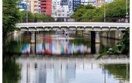 横浜の橋、インスタで投稿