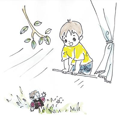 『山田さんちのけやきの木』
