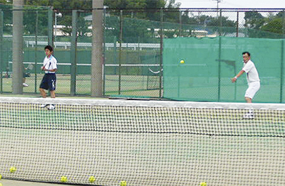 障害者にテニスを