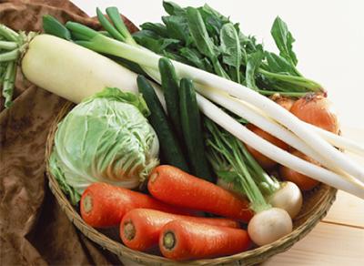 地産地消の野菜市が再開