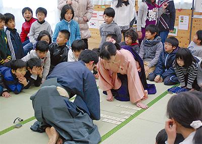 百人一首で日本語学ぶ