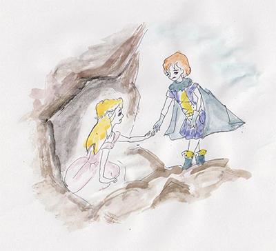『救(すく)い出されたお姫様(ひめさま)』