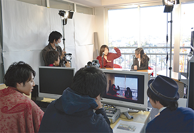 神大に学生発信スタジオ