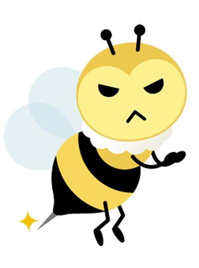 「ハチ」「食中毒」にご用心