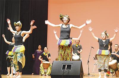 アフリカ音楽コンサート