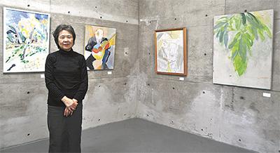 「地域サロン」で絵画展
