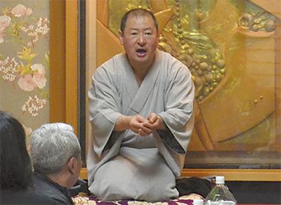 寿司屋で落語