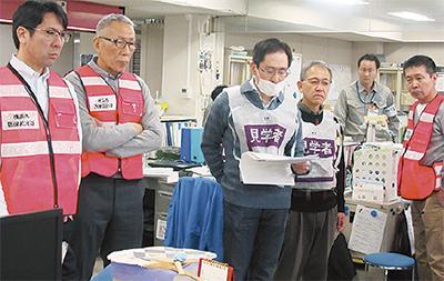 鶴見区と合同医療災害訓練