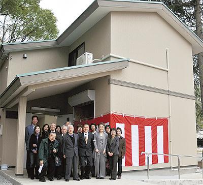 平川町公園集会所が開所