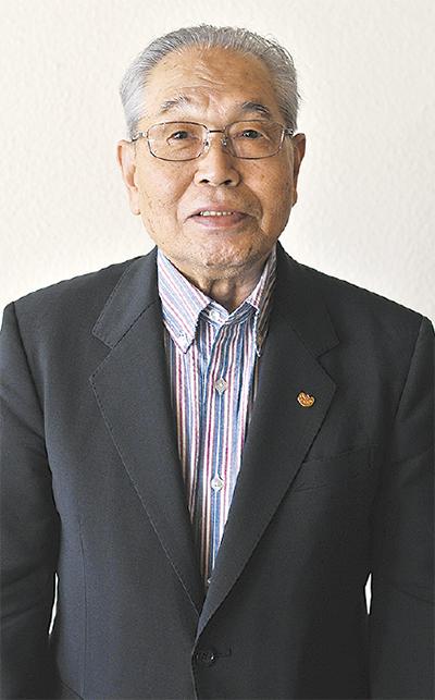 伊東満さん(88)に旭日単光章