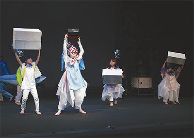 小中学生が舞台創作