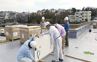 発電設備で屋上活用