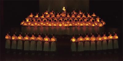 「心の灯」に誓う