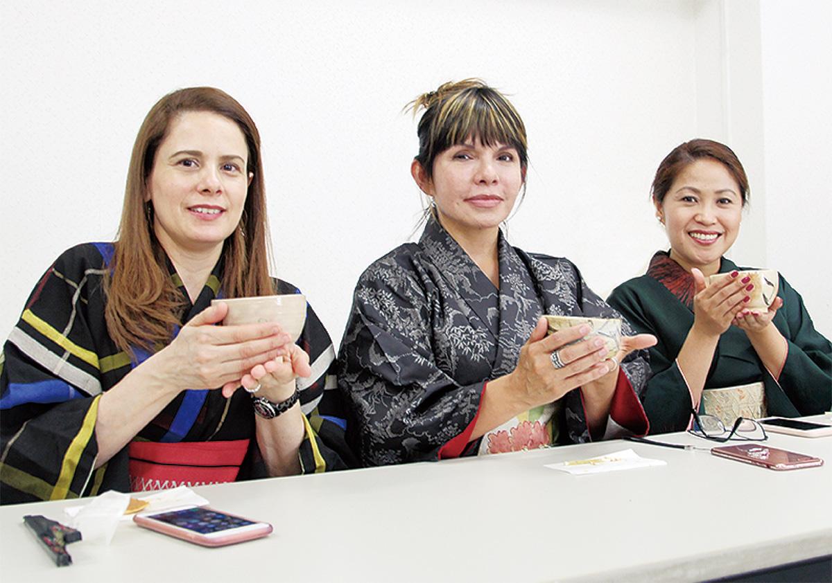 外国人に日本文化を