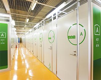 施設規模、清潔感で評判の同施設