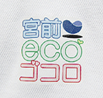 オリジナルデザインのロゴ