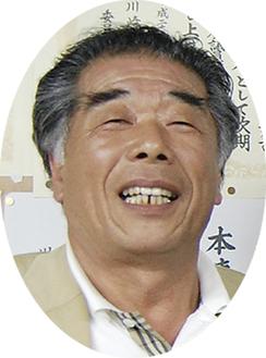 生け花を指導する吉田義一さん
