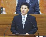 石油コンビナートの危険性を質す飯田