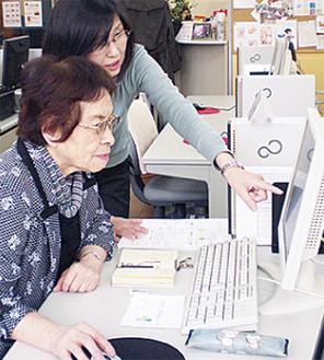 富士通認定講師がゆっくり、丁寧に指導