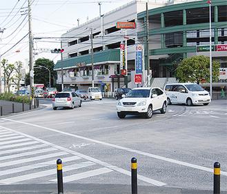 交通量を考え信号のタイミングを変更