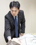 准看護師資格を持つ生徒を受入れている看護専門学校を視察
