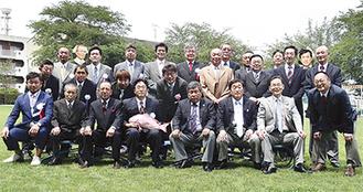 50周年を迎えた稗原長栄会のメンバー