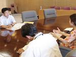 生徒指導について県教育局と意見交換