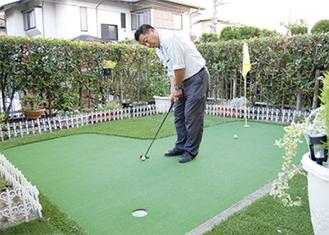 本格的なゴルフ練習が可能に
