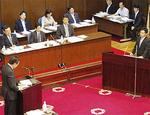 予算委員会で知事と議論