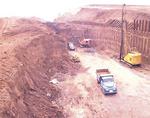 1966年鷺沼駅開発の様子