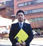横浜市磯子区の県立汐見台病院を視察しました