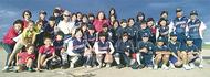 ソフトボールで福島応援