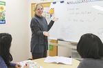 講師は全員語学を教える資格を取得。熱意溢れる指導が評判。
