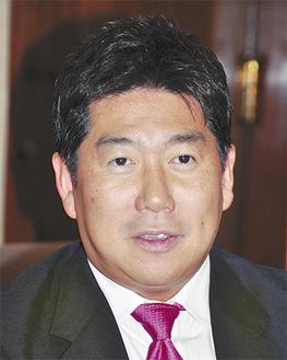まちづくりについて語る福田市長