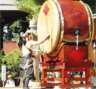 和太鼓の演奏や体験会も実施