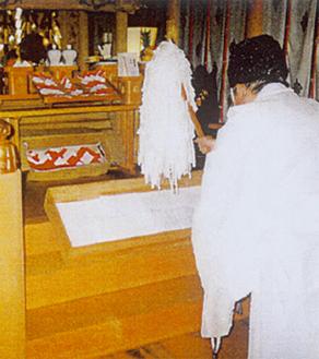 神社でお祓い