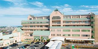 横浜市南区にある県立こども医療センター※公開講座会場は「TKPガーデンシティ横浜」