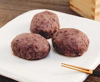 あずき糀つぶ餡の牡丹餅